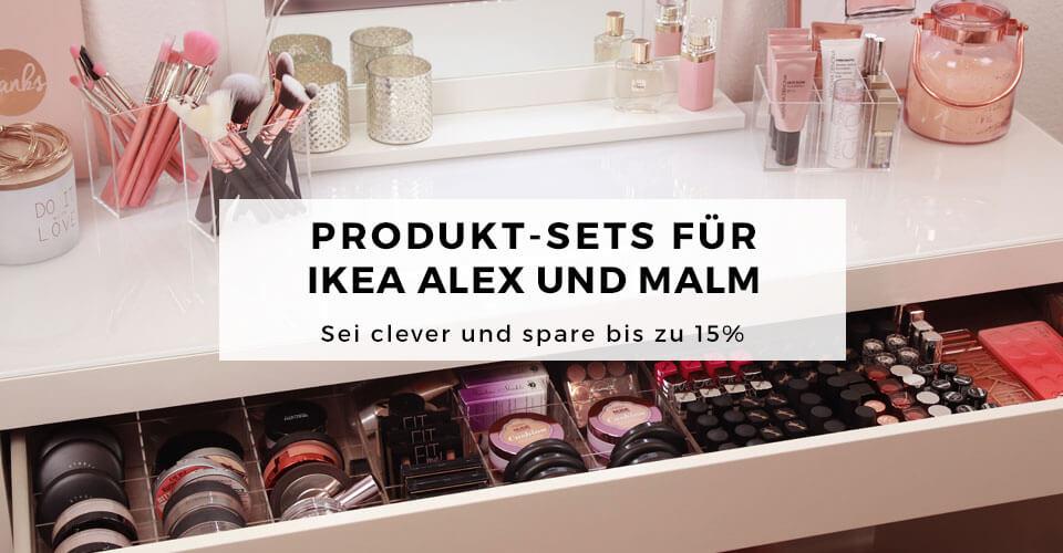 02_TidyUps Make-up Organizer aus Acryl für IKEA ALEX und MALM