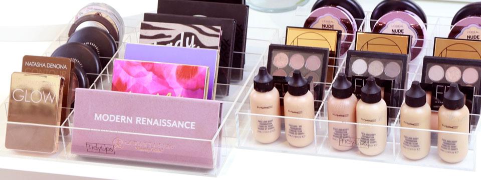 05_TidyUps Make-up Organizer aus Acryl für die Kosmetikaufbewahrung