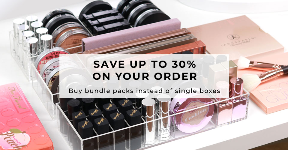 00_TidyUps acrylic makeup organizer Bundle Packs - 30% off