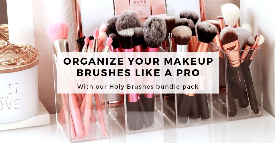 04_TidyUps acrylic makeup organizer Holy Brushes