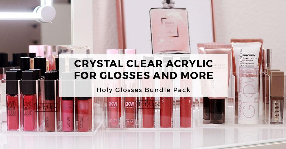 03_TidyUps acrylic makeup organizer Holy Glosses