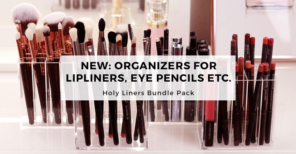 00_TidyUps acrylic makeup organizer Holy Liners