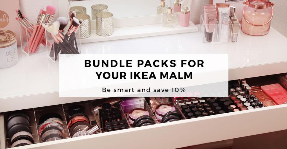 01_TidyUps acrylic makeup organizer for IKEA MALM