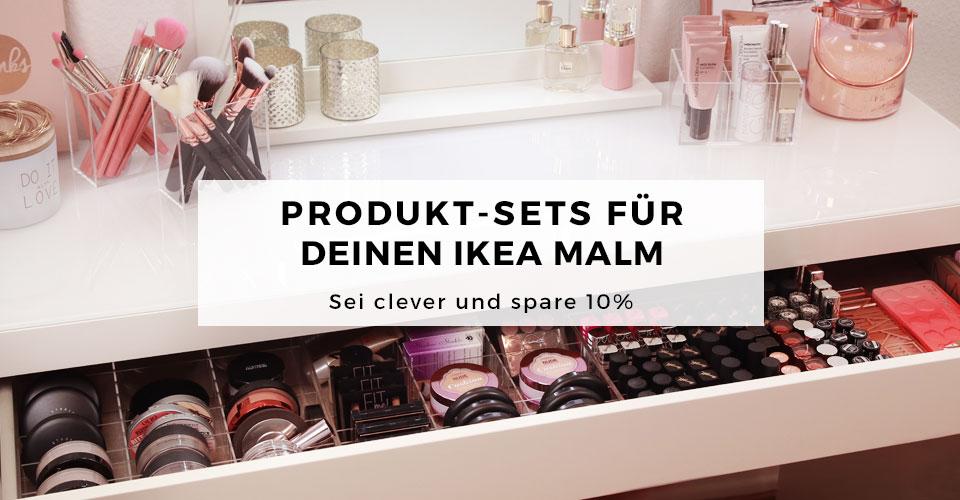 01_TidyUps Make-up Organizer aus Acryl für IKEA MALM