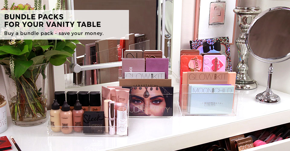 4 - NEW IN: Bundle Packs Make-up Desk