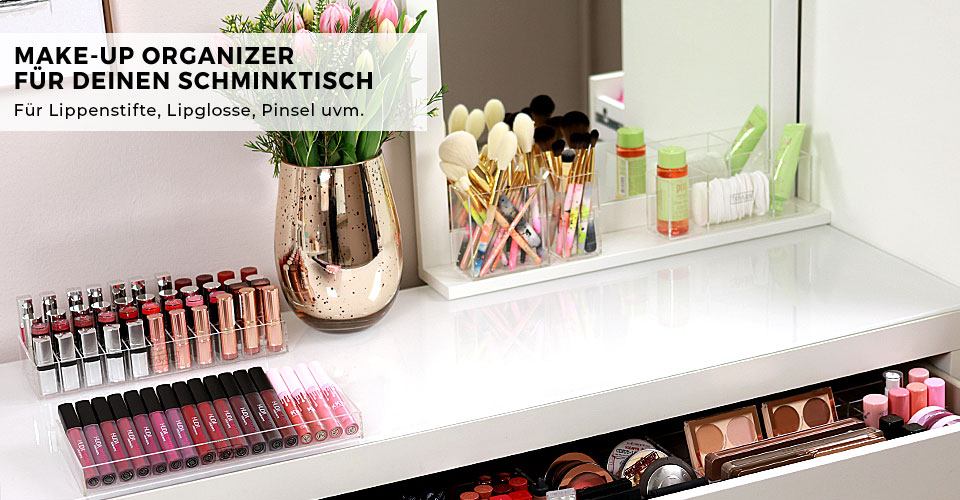 1- NEW IN: Organizers Make-up Desk
